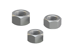 Hexagon nut for high-strength structural bolting System HR
