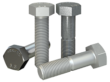 Hexagon head bolt DIN EN ISO 4017-2015 (DIN 933, DIN 931-1), ISO 4014:2011, ISO 4017:2014